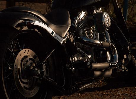 motorcykel lakering pris
